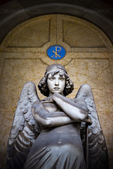 _MG_4830 - The Forgotten Angel (AlexDROP) Tags: 2018 europe genoa liguria italy art travel architecture cemetery grave tomb color sculpture portrait statue canon6d ef16354lis best iconic famous mustsee picturesque postcard