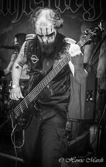 Day 315: Stahlsarg (Howie1967) Tags: dean bass guitar musician makeup dark