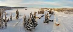 Wilderness Lake in Winter (JLS Photography - Alaska) Tags: alaska alaskalandscape america landscape landscapes lastfrontier jlsphotographyalaska droneimagesalaska snow lake wilderness winter winterlandscape drone ariel arielview