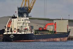 Aasli, Belfast Docks, December 2018 (nathanlawrence785) Tags: ships ship vessel belfast docks titanic quarter