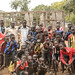 South Sudanese students and directors in Tierkidi School No. 3, Refugee Camp, pose for a group picture.
