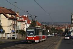 Prague - Tram 8653 (Ambiance Tram) Tags: prague tram tatra