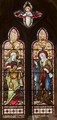 Waltham on the Wolds, St Mary Magdalene church, window (Jules & Jenny) Tags: stmaryschurch walthamonthewolds stainedglasswindow