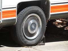 1970s/80s Freedom Express camper trailer (RS 1990) Tags: trailer camper belair adelaide southaustralia thursday 15th november 2018 holden hubcap statesman