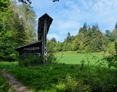 """""""Kozolec"""" - Traditional Racks Used to Dry Hay - Bled, Slovenia (ex_magician) Tags: hay dryer trail meadow bled lakebled slovenia sloveniatrip vacation september 2018 moik photo photos picture pictures image lightroom adobe adobelightroom interesting europe kozolec rack dryhay"""