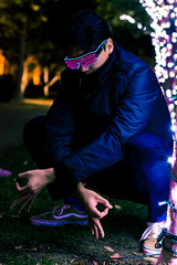 JYP-Kevin-Raquidan-24 (Kevrockydon) Tags: nikon nikonphotography nikond7200 d7200 portrait people person night light lights neon color christmaslights libertystation sandiego california city