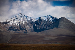 Mountain seen from Tsola Pass, Tibet (CamelKW) Tags: tibet2018 mountain tsolapass tibet