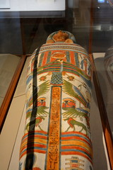 Chicago, IL - University of Chicago - Oriental Institute - Egyptian - Coffin and Mummy of Meresamun (jrozwado) Tags: northamerica usa illinois chicago universityofchicago university museum orientalinstitute middleeast neareast history archaeology egyptian coffin mummy meresamun