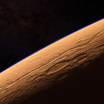 Over Gusev Crater of Mars thumbnail