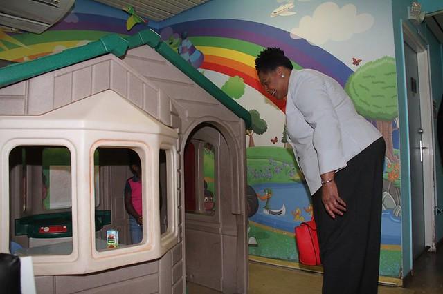 Visit to the Paediatric Emergency Department, Wendy Fitzwilliam Paediatric Hospital