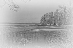 Nature grain (Johan Fredlund) Tags: water sweden ice icescape blackandwhite beutiful fineart snow landscape seascape sea landscapeporn lake black white milkywhite blackwhite bw becausewelovesweden naturebw natur asomwe wonderfully awesome erth nature north finspång scandinavia sverige f11 1018 efs1018mm f4556 is stm 7d canon7d canon canonworld arts nik collection nikcollection lightroom adobe dxo 1018mm raw cr2