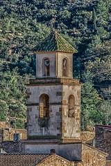 IGLESIA DE GODALL (juan carlos luna monfort) Tags: montsia tarragona campanario hdr montaña arboles piedra nikond7200 sigma150500 calma paz tranquilidad
