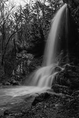 High Shoals Falls (Brandon Westerman WNP) Tags: highshoalsfalls paulding county dallas georgia water waterfalls waterfall woods forest rocks trees winter landscape longexposure nature nikon bnw blackandwhite