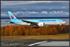 HL8043 Korean Air Lines (Bob Garrard) Tags: hl8043 korean air lines boeing 777 777f anc panc