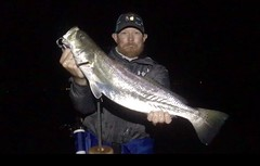 6.5 LBS speck! (dixon1972) Tags: personalbest nightfishing speckledtrout matagordabay wadefishing