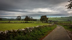 England (Phil-Gregory) Tags: england road nikon d7200 tokina1120mmatx tokina wideangle ultrawide countrylife countryside milldale hartington peakdistrict staffordshire trees clouds colours autumn
