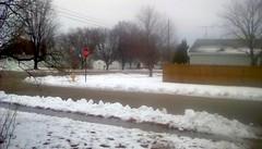 Gloomy winter day! (Maenette1) Tags: cloudy winter day snow neighborhood menominee uppermichigan flicker365 allthingsmichigan absolutemichigan projectmichigan michiganwinter