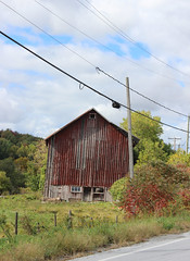 An old barn (pegase1972) Tags: barn grange farm ferme québec quebec qc canada estrie easterntownships rural
