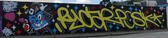 Graff: rue de Madagascar à Brest (10/05/2018) (EricFromPlab) Tags: graff graffiti tag tags street art urban wall mural streetart bretagne finistère breizh brittany brest
