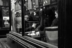Deep in Thought (Bury Gardener) Tags: bw blackandwhite monochrome mono england eastanglia uk britain burystedmunds suffolk streetphotography street streetcandids snaps strangers candid candids people peoplewatching 2018 nikond7200 nikon abbeygatestreet