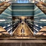 The Subway station HafenCity Überseequartier thumbnail