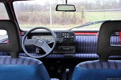 Fiat Panda 1000 CL i.e. 1990 (YP-02-FB) interior (MilanWH) Tags: fiat panda 1000 cl ie 1990 yp02fb iniezione elettronica 141 dashboard interior interno