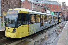 3048 + 3049 (ANDY'S UK TRANSPORT PAGE) Tags: trams manchester metrolink shudehill