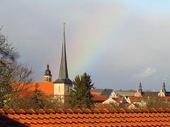 Arnstadt, roofs (germancute) Tags: arnstadt outdoor stadt town thuringia thüringen