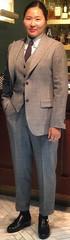 Knockers (bof352000) Tags: woman tie necktie suit shirt fashion businesswoman elegance class strict femme cravate costume chemise mode affaire