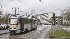 PCC Woluwe (Albert Koch) Tags: pcc brussels mivb tram streetcar tramway tramcar belgium transport clouds cloudy pantograph rain winter