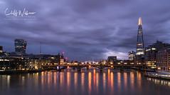 The shard-2 (cliffwilliams449) Tags: london dark predawn river thames riverthames architecture skyline bridge towerblock shard refection towerbridge saariysqualitypictures