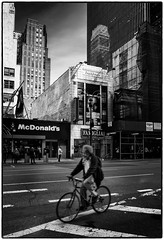 Streets of NYC (adrianstadelmann) Tags: newyork street astpic nyc bw noiretblanc blackandwhite