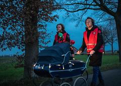 Mark en Rámon met de kinderwagen! (3FM) Tags: sr18 lifeline 3fm rode kruis rodekruis mark rámon serious request wandelen