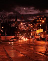 Wintersonnenuntergangsstimmung (richard.kralicek.wien) Tags: vienna austria street