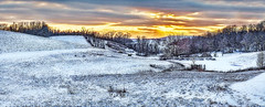 IMG_7040-41Ptazl1TBbLGERkB (ultravivid imaging) Tags: ultravividimaging ultra vivid imaging ultravivid colorful canon canon5dm2 clouds sunsetclouds stormclouds scenic sunset sky snow twilight trees winter rural pennsylvania pa panoramic painterly landscape evening farm fields