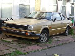 1982 Honda Prelude 1.6 (1602cc-SN) Auto (Neil's classics) Tags: vehicle car 1982 honda prelude 16 sn abandoned
