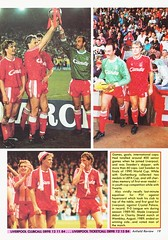 Liverpool vs Blackburn Rovers - 1991 - Page 19 (The Sky Strikers) Tags: liverpool blackburn rovers fa cup road to wembley the anfield review one pound