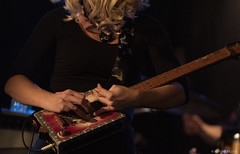 The tools of a guitar master. Samantha Fish at Shank Hall, Milwaukee, 12/11/18 (mobybick2) Tags: artistsandbands samanthafish shankhall venues wisconsin places blues musicgenres instruments guitar singersongwriter milwaukee year 2018