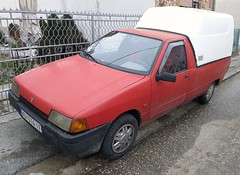 2000 Yugo Florida 1.3 Poly (FromKG) Tags: yugo florida 13 poly zastava red car kragujevac serbia 2018