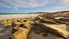 Rock Structures (Stefan Zwi.) Tags: südafrika light abendlicht strand arniston eveninglight felsstruktur rock fels beach colour southafrica farbe ngc npc