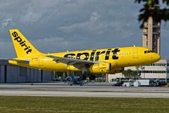 N530NK Spirit A319 Cowel Mismatch FLL JTPI 5188 (JTOcchialini) Tags: spirit a319 ft lauderdale hollywood international airport florida 10r franken plane
