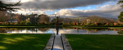 """"""" Unbind The Wing """" (cassidymike21) Tags: landscape art sky water nikon sculpture trees nationaltrust"""