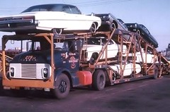 GMC; Anchor #279-L3 (PAcarhauler) Tags: gmc pontiac carcarrier semi tractor trailer truck