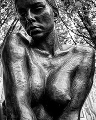 Artistic body 02 (Marcel van Hoof) Tags: naked statue bw blackandwhite sexy erotic woman body design art