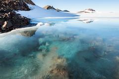 The Glacier's Blue (blue polaris) Tags: new zealand mt mount ruapehu tongariro national park volcano glacier meltwater ice snow blue landscape