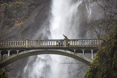 Benson Bridge at Multnomah Falls (maytag97) Tags: maytag97 nikon d750 bridge falls oregon multnomah nature benson water forest waterfall beautiful river green columbia footbridge background white natural travel outdoor portland scenic trees stream pacific northwest beauty hiking gorge architecture outdoors tourism motion winter
