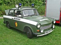 444 Trabant 601 (1987) (robertknight16) Tags: trabant german germany egermany police military sachsennring duroplast lichfield d612yev 1980s