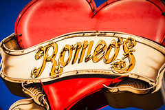 Speed of Light (Thomas Hawk) Tags: america austin romeos texas usa unitedstates unitedstatesofamerica heart neon restaurant fav10 fav25 fav50 fav100