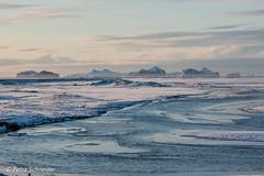 View towards Westman Islands (Petra Schneider photography) Tags: westmanislands vestmannaeyjar iceland island islande winter winterday coast southcoast snow ringroad