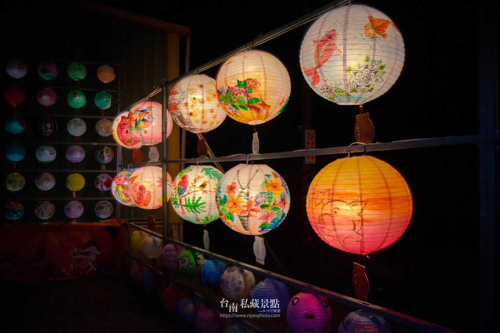 六甲媽祖廟燈會 | 最接地氣的恒安宮花燈-6